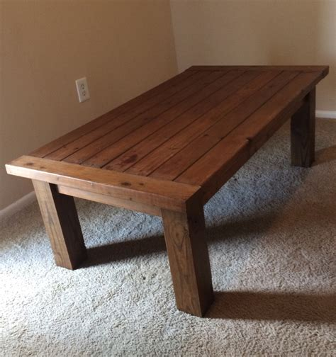ana white tryde coffee table and end tables diy projects