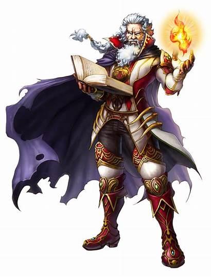 Rune Wizard Magic Medieval Sultan Visitar Desenho