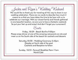 wedding welcome letters sample pinterest diy wedding With sample wedding welcome letter