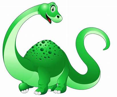 Dinosaur Cartoon Clipart Transparent Clip Background Cliparts