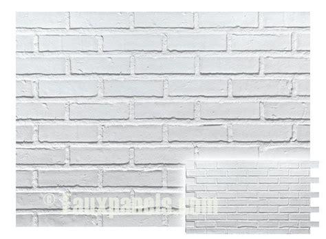 white brick veneer faux brick veneer panels white brick paneling the o 1009