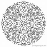 Coloring Meditation Pages Geometric Mandala Adult Adults Geometry Imgur Square Printable Colouring Mandalas Sheets Stencil Patterns Pattern Infinite Dance Age sketch template