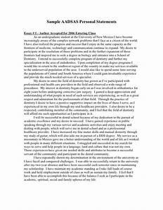 Nursing Admission Essay Examples Sample Aadsas Personal Statements Dat Prep Pinterest