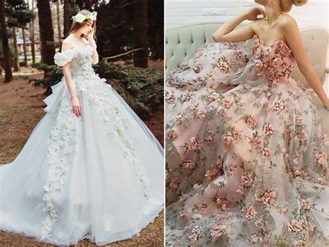25 Incredibly Breathtaking Dresses With 3d Flowers