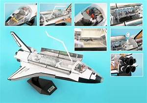 NASA - 4D Vision Cutaway Space Shuttle Discovery - 1/72 ...