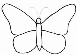 Dessin Facile Papillon : papillons a colorier imprimer a facile a a coloriage papillon simple a imprimer ~ Melissatoandfro.com Idées de Décoration