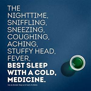Vicks Nyquil SEVERE Cough Cold and Flu Nighttime Relief