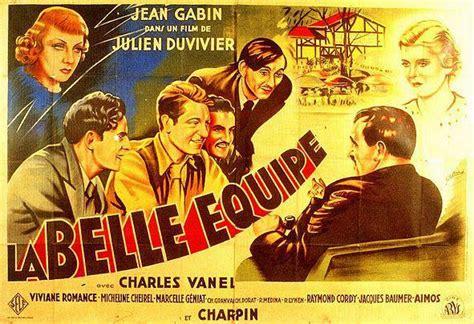 jean gabin la belle équipe la belle equipe 1936 unifrance films