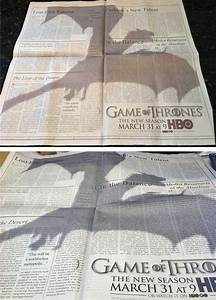 """This """"Game Of Thrones"""" Ad Is The Best Print Ad Of The Year ..."""
