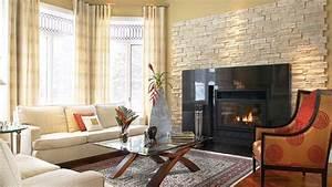 Deco Salon Contemporain : la grande classe d 39 un foyer dans le salon chez soi ~ Melissatoandfro.com Idées de Décoration