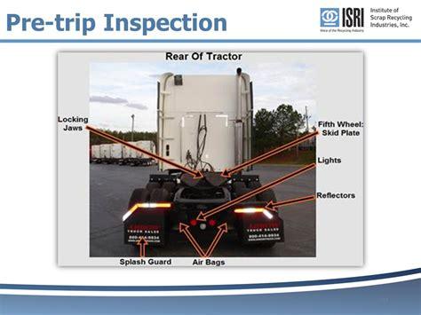 pre trip inspection guide  video