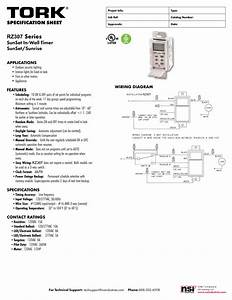 Tork Rz307 Timers Digital Lighting Timer Guide