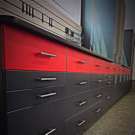 red and black garage cabinets garage awesome cabinets roselawnlutheran