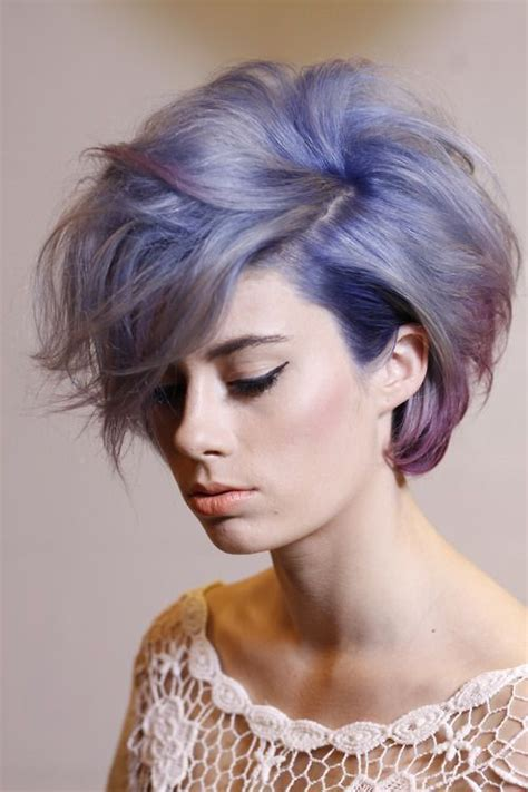 Short Blue Hair Pictures Photos And Images For Facebook
