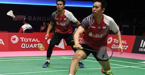 malaysia masters  hendraahsan ditantang ganda