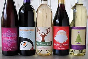 make your own holiday wine labels because it39s With create own wine label