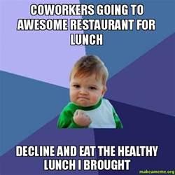 Co-Worker Lunch Meme