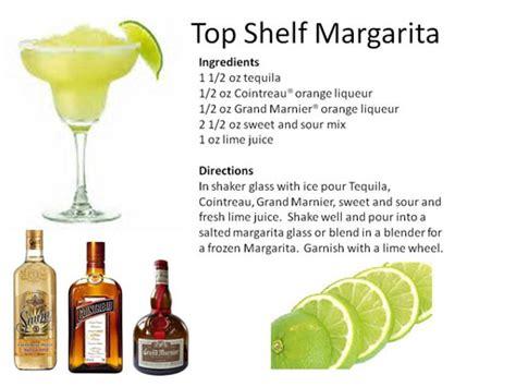 top shelf margarita recipe top shelf margarita cocktail recipe