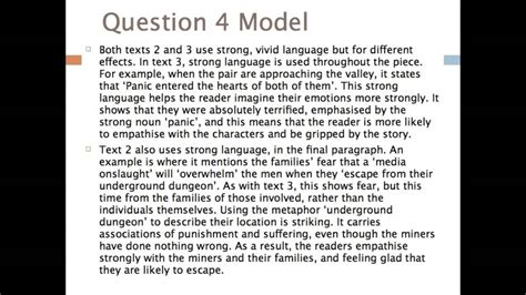 It's all here feel free to add resources to the thread as well as anything that may be helpful to others GCSE English - AQA H Tier Question 4 Model Answer - YouTube