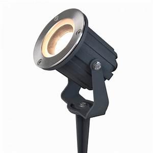 Spot Exterieur 12v : support spot ext rieur sur piquet pour gu10 eclairage design ~ Edinachiropracticcenter.com Idées de Décoration