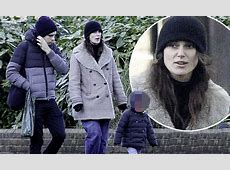 Keira Knightley enjoys afternoon at the park with family