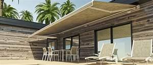 Protection Soleil Terrasse : un store pour votre terrasse une protection contre le soleil jardin deco ~ Nature-et-papiers.com Idées de Décoration