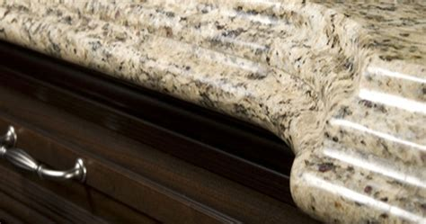 edge styles for counter tops