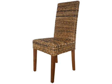 chaise en rotin conforama lot de 2 chaises en rotin abaca vente de chaise conforama