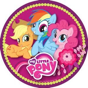 Round My Little Pony
