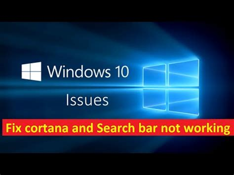 fix cortana and search not working windows 10 howtosolveit cp