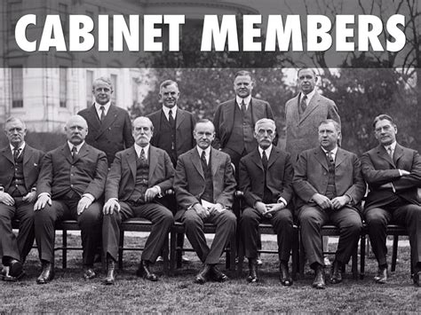 Cabinet Members by Herbert Hoover Cabinet Members Www Stkittsvilla