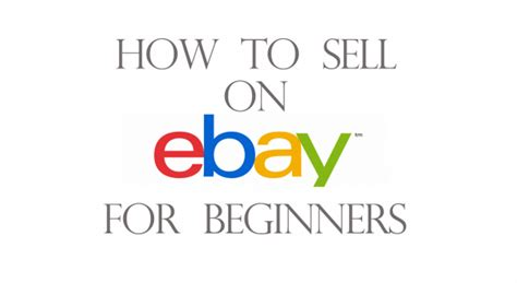 sell on ebay how to sell your stuff on ebay