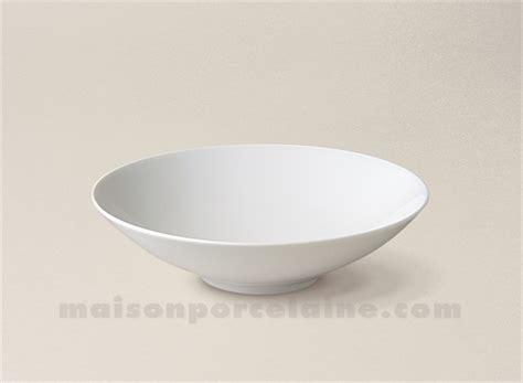 copie lade design bol salade cereales limoges porcelaine blanche envie d18