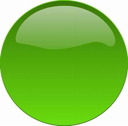 Button Circle Clipart Clip Dot Vector Clker