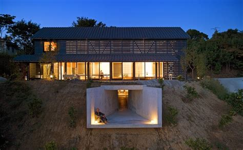 barn style house plans unique homes in japan glowing house with a secret tunnel