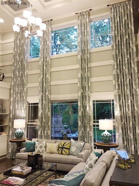 high ceiling curtain design 1000 ideas about tall window treatments on pinterest tall windows chocolate brown couch and