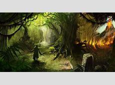 [Fantasy art] Aztec Jungles by chenzan at Epilogue