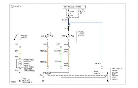 1984 Dodge Wiper Wiring Diagram by 1986 Dodge Ram Replace Wiper Switch With 3 Way Toggle