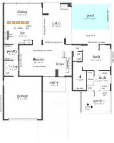 house plans with a pool house plans and design modern house plans with pool
