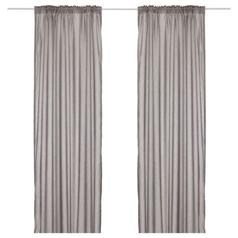 ikea vivan curtains grey vivan curtains 1 pair gray