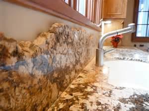 kitchen backsplash travertine tile detail of chiseled granite backsplash stocker tile