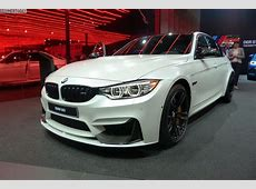 IAA 2015 BMW M3 F80 LCI mit M Performance in Frozen White