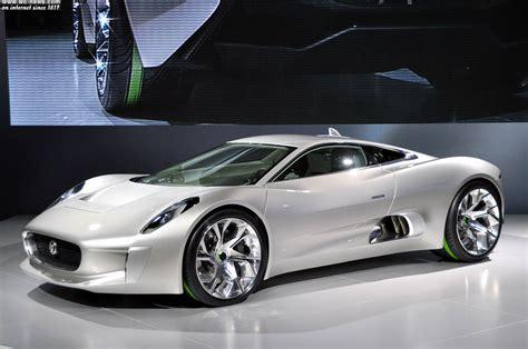 Jaguar Car : Jaguar Hybrid C-x75, The Gem Of Jaguar Cars And Williams F1