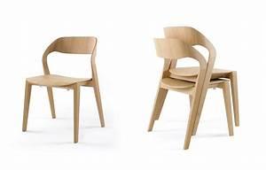 Stühle Aus Holz : design stuhl aus holz stapelbar minimalistisch f r das ~ Lateststills.com Haus und Dekorationen
