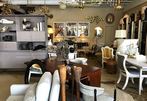 furniture store stripe vintage modern shopping