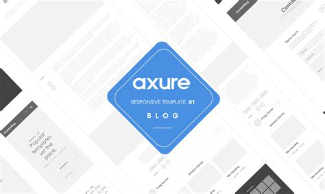 axure templates axure responsive template website 1