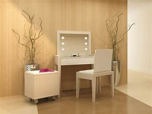 Coiffeuse Moderne Avec Miroir : dix coiffeuses dix ambiances page 9 ~ Teatrodelosmanantiales.com Idées de Décoration