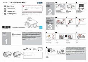 Notice Epson Sx400