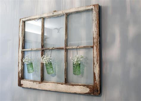 Danielle wanted a white window pane, but the one i found at an antique store that was the right size, was the wrong color. Window Pane Nursery Wall Decoration | HGTV