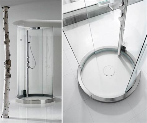 shower enclosure automatic shower stall  roca